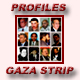 Alphabetical & Chronological listing of Gaza Strip Profiles