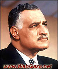 Gamal Abdel Nasser - Egyptian politician, prime minister 1954-56 and from 1956 president of Egypt (the United Arab Republic 1958-71).