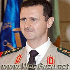 Bashar Al Assad - Syrian President, represents stability and continuity after the 30-year rule of his father Hafez Al-Assad, born in Damascus, Syria, Sep 1965.