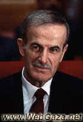 Hafez Al-Assad - Born 1928, he was elected president of Syria in 1971 and reelected in 1978, 1983, 1991, and 1999.