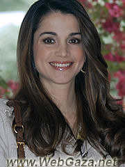 Queen Rania of Jordan - Known for her business savvy, elegance and outspokenness, Rania Yasin was born on August 31, 1970, in Kuwait to Palestinian parents.