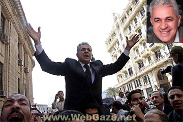 Hamdeen Sabahy - Socialist Hamdeen Sabahy announces he's running for president of Egypt as an independent candidate.
