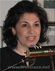 Bouthaina Shaaban - Writer and women's rights activist, Bouthaina Shaaban was nominated for the 1000 Women for Noble Peace Prize 2005