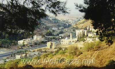 Jinin (Jenin) - Jenin lies in the northern part of the West Bank, in the central part of Palestine. It was freed after 27 years of Israeli occupation on November 1995.