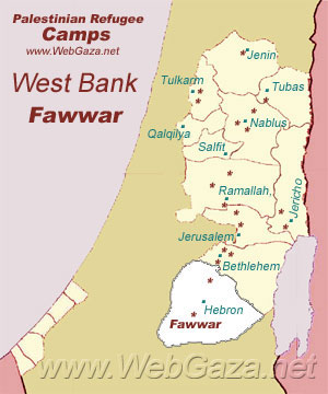 Fawwar Refugee Camp
