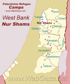 Nur Shams Refugee Camp