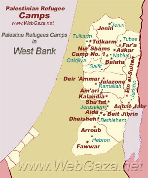 West Bank Refugee Camps