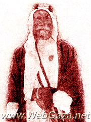 Sheikh Freih Abu Meddien - Born in 1871; took part in the Arab Revolt of 1916, was appointed as a member in the first Advisory Council by Herbert Samuel in October 1920.