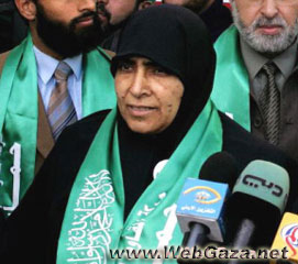 Jamilah Al Shanti - Member of The Palestinian Legislative Council.