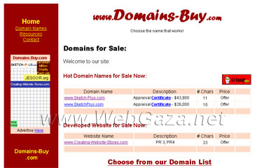 Domains Buy - Domains for Sale, Choose the domain name that Works.