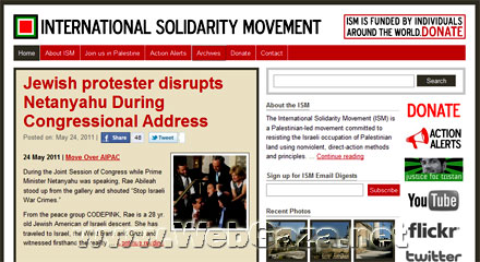 International Solidarity Movement (ISM) - A Palestinian-led movement committed to resisting the Israeli apartheid in Palestine by using nonviolent, direct-action methods and principles.