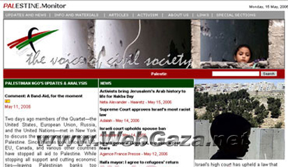 Palestine Monitor - The Palestine Monitor was set up in December 2000, just a few months after the start of the second Intifada.