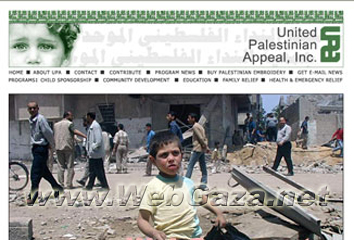 United Palestinian Appeal (UPA) - The first Palestinian-American charity to be registered with the U.S. Agency for International Development (USAID).