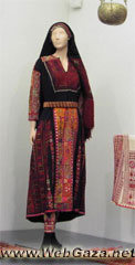 Beit Dajan dress #2 - Dress from Beit Dajan, District of Jaffa.