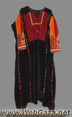 Al-Bireh Dress - Dress from Al-Bireh, District of Ramallah.