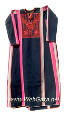 Burayr Dress #1 - Dress from Burayr, District of Gaza (Ghazzah).
