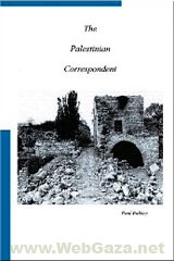 Title: The Palestinian Correspondent, Author: Paul Bulkley, Category: Books, Paperback: 226 pages, Publisher: CreateSpace.