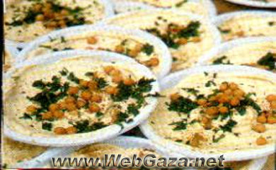 Hummus Bi Taheeni - Anyone familiar with Middle Eastern food recognizes this rich sauce as a favorite. It always appears with meza and is becoming popular at western-style cocktail parties.