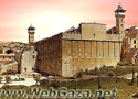 Ibrahimi Mosque (al-Haram al-Ibrahimi) - Constructed by King Herod towards the end of the first century BC, one of the most imposing of ancient Palestinian monuments.