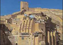 Mar Saba's Monastery - Half way between Bethlehem and Jericho, this monastery was built by St. Saba in 483 AD.